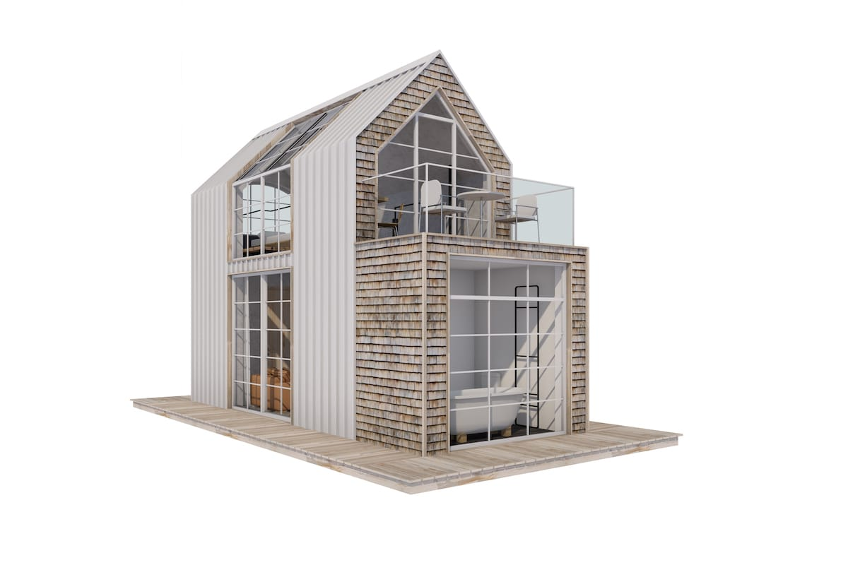 Pläne zum Tiny Loft Modell One